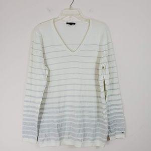 Tommy Hilfiger Sliver Stripe Sweater